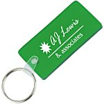 Round Cornered Rectangle Soft Key Tag