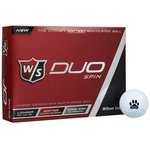 Wilson Staff Duo Spin Golf Ball - Dozen - Quick Ship