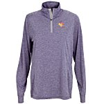 Melange 1/4 Zip Tech Pullover - Ladies'