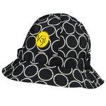 totes Fashion Printed Bucket Rain Hat