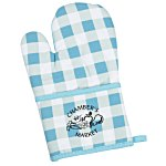 Therma-Grip Oven Mitt with Pocket - Plaid