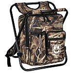 Chillin' 24-Can Cooler Bag Stool - Camo