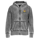 Ridgemont Burnout Full Zip Hoodie - Men's - 24 hr