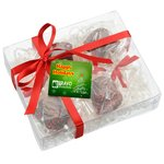 Chocolate Covered Marshmallows - Holiday Nonpareils