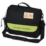 Blaine ID Window Messenger Bag - Closeout