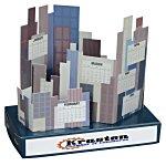 Cityscape Desk Calendar