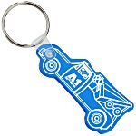 Tow Truck Soft Key Tag - Translucent