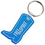 Western Boot Soft Key Tag