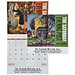 Saturday Evening Post Calendar - Stapled