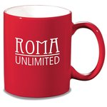 Red Stoneware Mug - 10-1/2 oz.