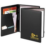 Pacesetter Executive Leather Folder - Foil Stamp