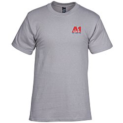 View a larger, more detailed picture of the Hanes Beefy-T - Embroidered - Colors