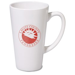 View a larger, more detailed picture of the Firehouse Mug - White