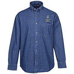 View a larger, more detailed picture of the Ultra Club Denim Shirt - Men s