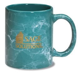 View a larger, more detailed picture of the Marble Mug - Colors