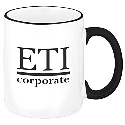 View a larger, more detailed picture of the Two-Tone Mug - 12 oz