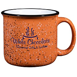 View a larger, more detailed picture of the Campfire Ceramic Mug - Colored - 15 oz