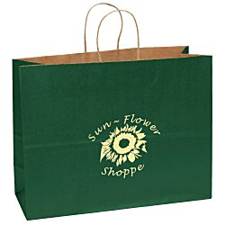 View a larger, more detailed picture of the Matte Shopping Bag 12 H x 16 