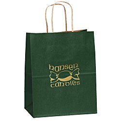 View a larger, more detailed picture of the Matte Shopping Bag 9-3 4 H x 7-3 4