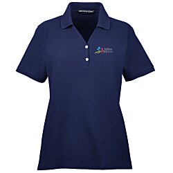 View a larger, more detailed picture of the Devon & Jones Pima Pique Polo - Ladies