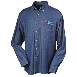View a larger, more detailed picture of the Blue Generation Denim Shirt - Men s