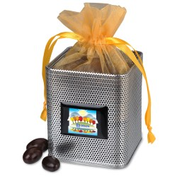 View a larger, more detailed picture of the Desk Caddy - Mesh - Dark Chocolate Almonds