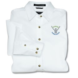 View a larger, more detailed picture of the Devon & Jones Titan Twill Shirt - Ladies