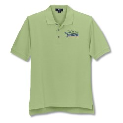 View a larger, more detailed picture of the Enterprise Pique Polo - Closeout