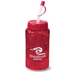 View a larger, more detailed picture of the Handle Bottle - 16 oz