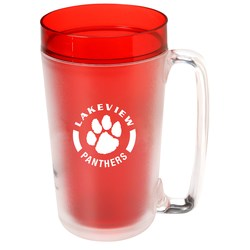 View a larger, more detailed picture of the Insulated Frosted Mug - 24 oz 