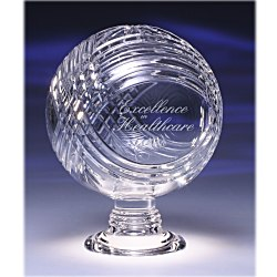 View a larger, more detailed picture of the Reflections Lead Crystal Award