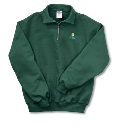 View a larger, more detailed picture of the Jerzees Cadet Collar Sweatshirt