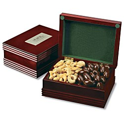 View a larger, more detailed picture of the Keepsake Wooden Box - 2 Selections