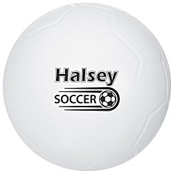 View a larger, more detailed picture of the Mini Vinyl Soccer Ball - 4-1 4