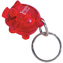 View a larger, more detailed picture of the The Bank R Key Tag - Translucent