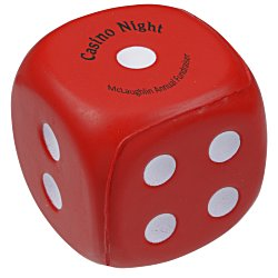 View a larger, more detailed picture of the Dice Stress Reliever