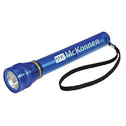 View a larger, more detailed picture of the Super Bright Flashlight - Translucent