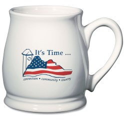 View a larger, more detailed picture of the Seattle Mug - White - 16 oz