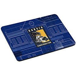 View a larger, more detailed picture of the Sublimated Mouse Pad - Rectangle