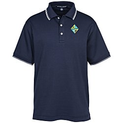 View a larger, more detailed picture of the Devon & Jones Perfect Pima Polo - Men s