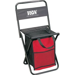 View a larger, more detailed picture of the Folding Chair w Cooler