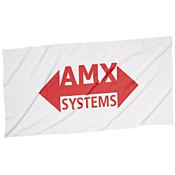 View a larger, more detailed picture of the Beach Towel - White - Screen