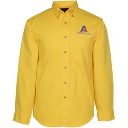 View a larger, more detailed picture of the Blue Generation LS Teflon Treated Twill Shirt - Men s