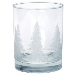 View a larger, more detailed picture of the On-the-Rocks Glass w Iced Tree Design - 13-1 2 oz