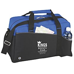 View a larger, more detailed picture of the Two-Tone Duffel Bag - Screen