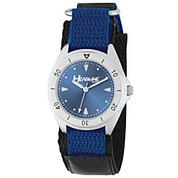 View a larger, more detailed picture of the Unisex Canvas Sport Watch