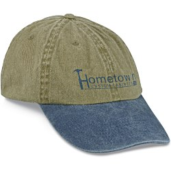 View a larger, more detailed picture of the Stonewashed Cap - Transfer