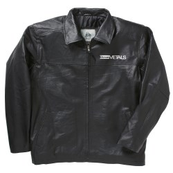 View a larger, more detailed picture of the Burk s Bay Napa Leather Jacket - Men s