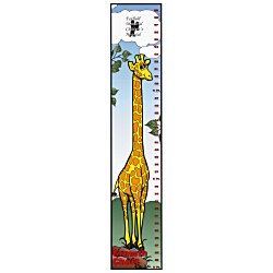 View a larger, more detailed picture of the Giraffe Growth Chart