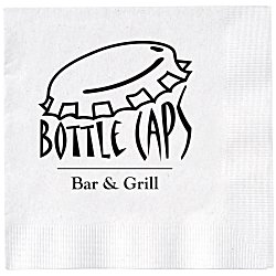 View a larger, more detailed picture of the Beverage Napkin - 2-ply - White